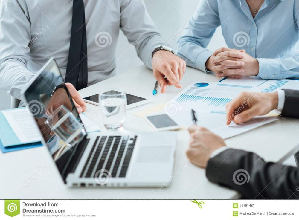 medium resolution of business teamwork stock photo