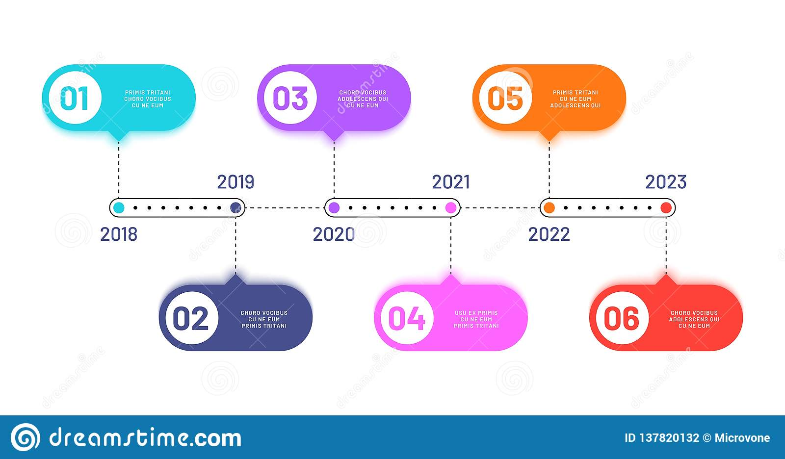 hight resolution of 6 process steps horizontal workflow processing diagram infographics vector flowchart work flow diagram with number year illustration