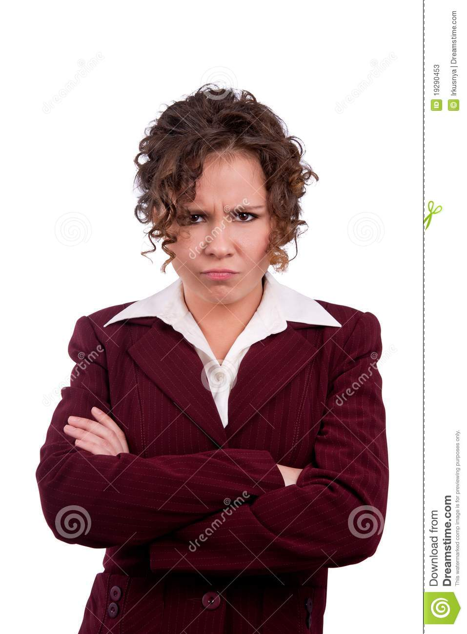 Business Woman Angry Stock Photos Image 19290453