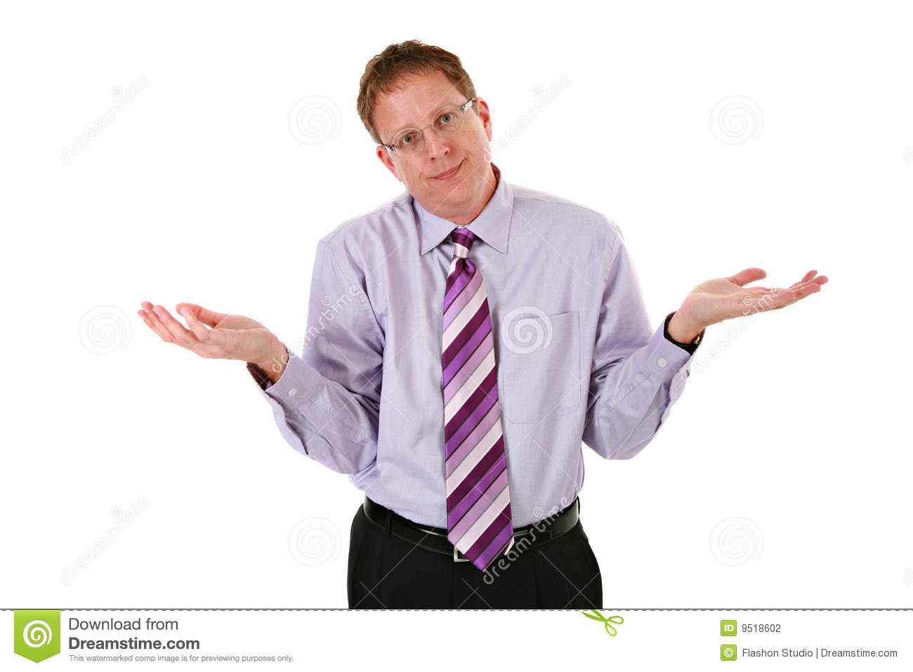 Businessman Frustration Expression Stock Photo  Image