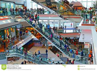 mall shopping busy shoppers active festival famous kong walk hong interior visitors center editorial dreamstime visit