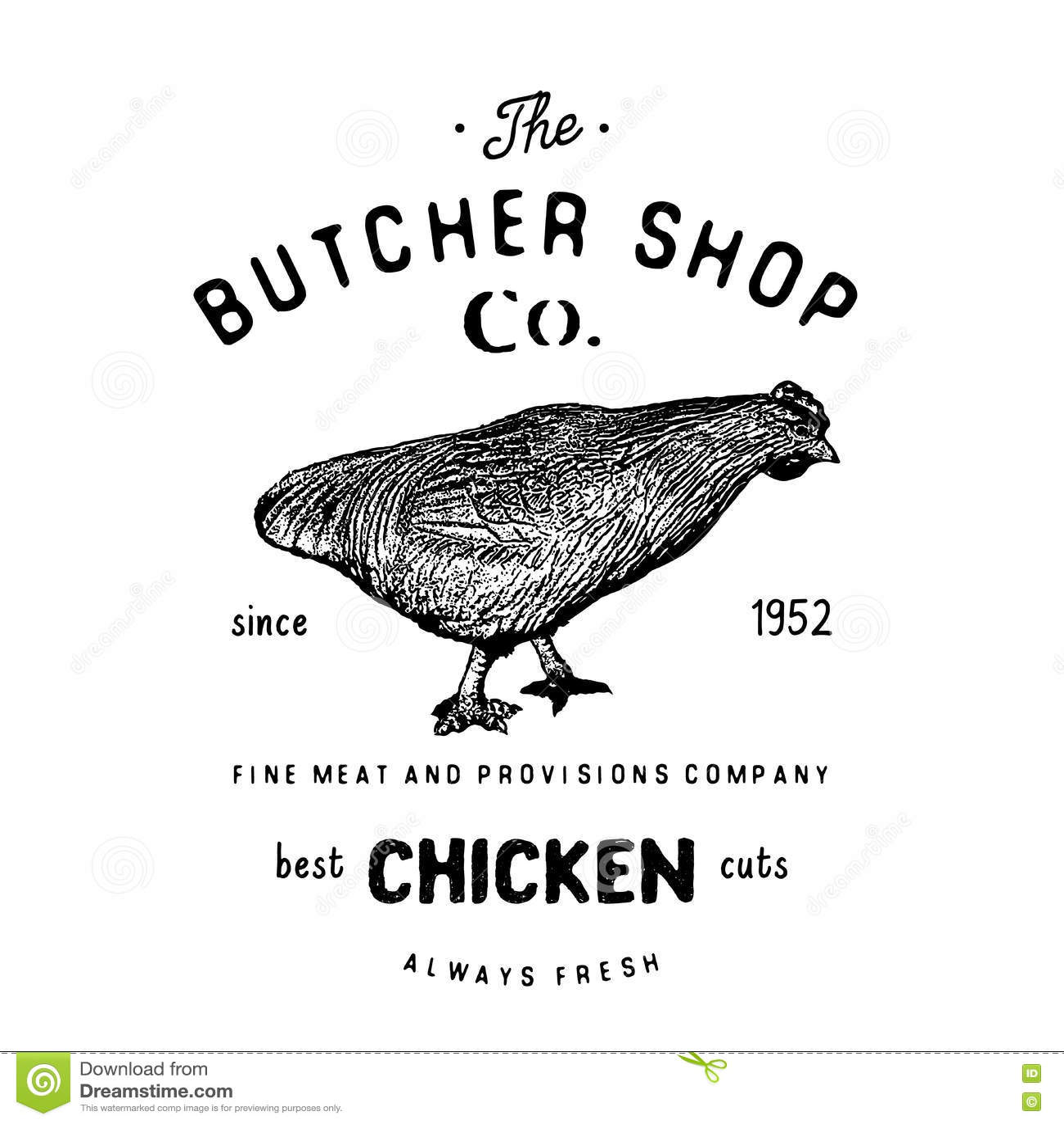 chicken meat diagram chicken symbol