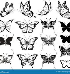 butterfly clipart [ 1300 x 1213 Pixel ]