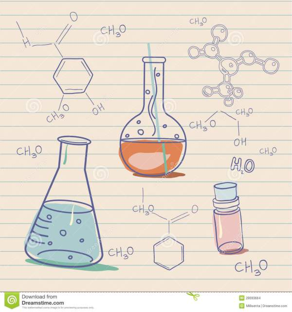 C Old Science And Chemistry Laboratory Stock Images