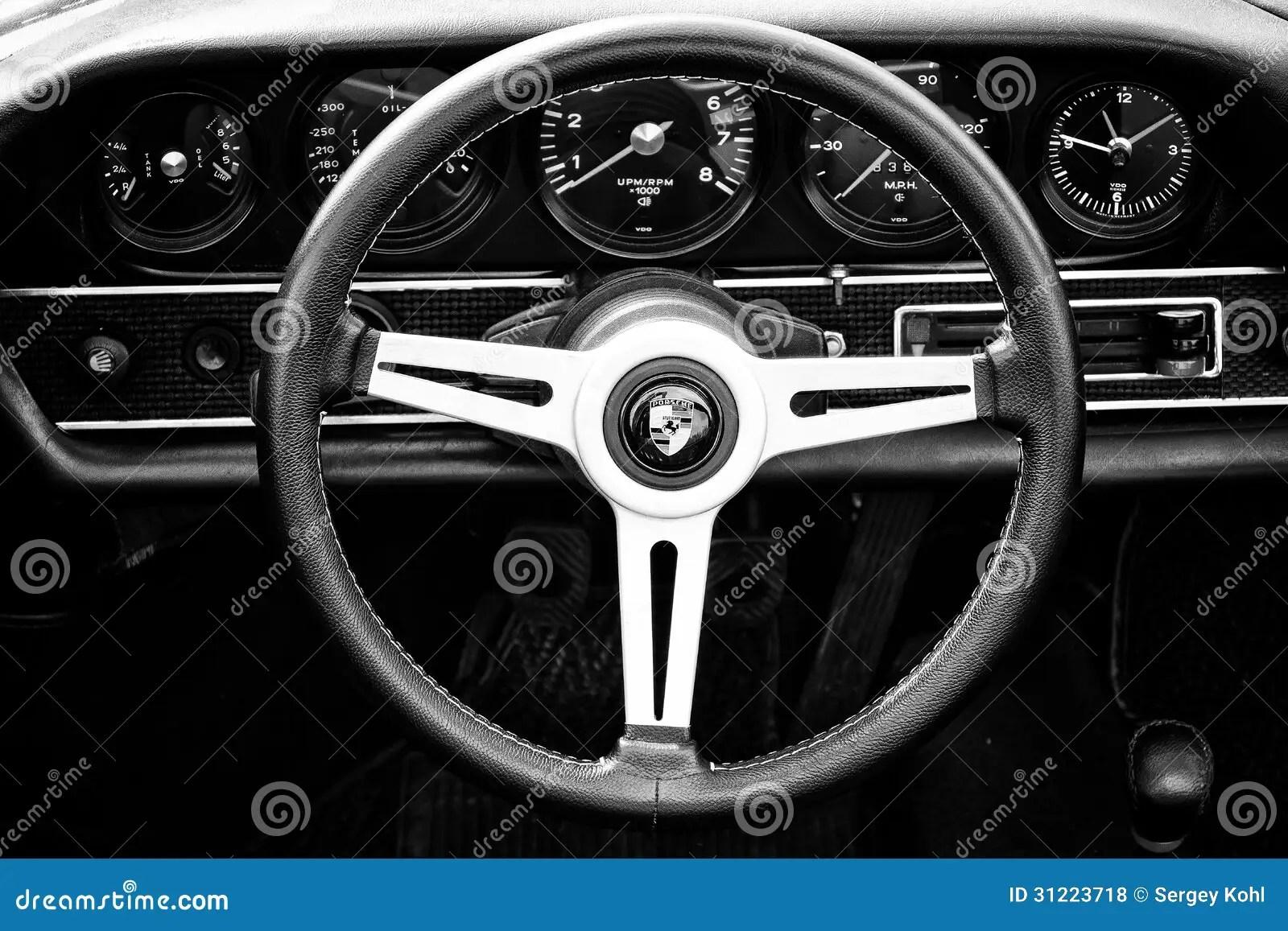 3d Animation Wallpaper Download Cab Porsche 911 Targa Black And White Editorial Stock