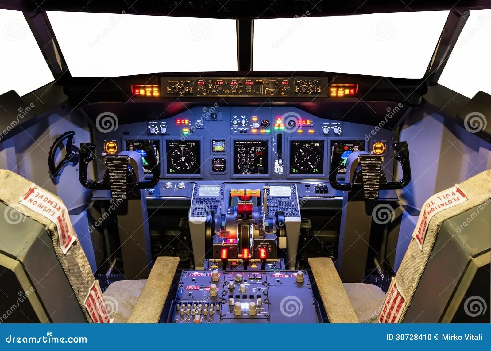 Cabina Di Pilotaggio Di Flight Simulator Casalingo