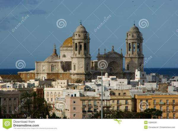 Cadiz Cathedral Stock - 53896281