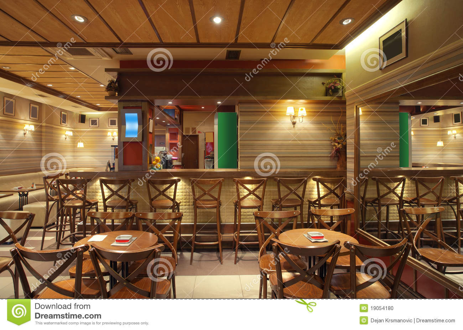 Cafe Interior stock photo Image of bistro lifestyle