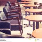 Cafe Interior With Tables And Chairs In Retro Bar Restaurant Stock Photo Image Of Decoration Retro 64651650