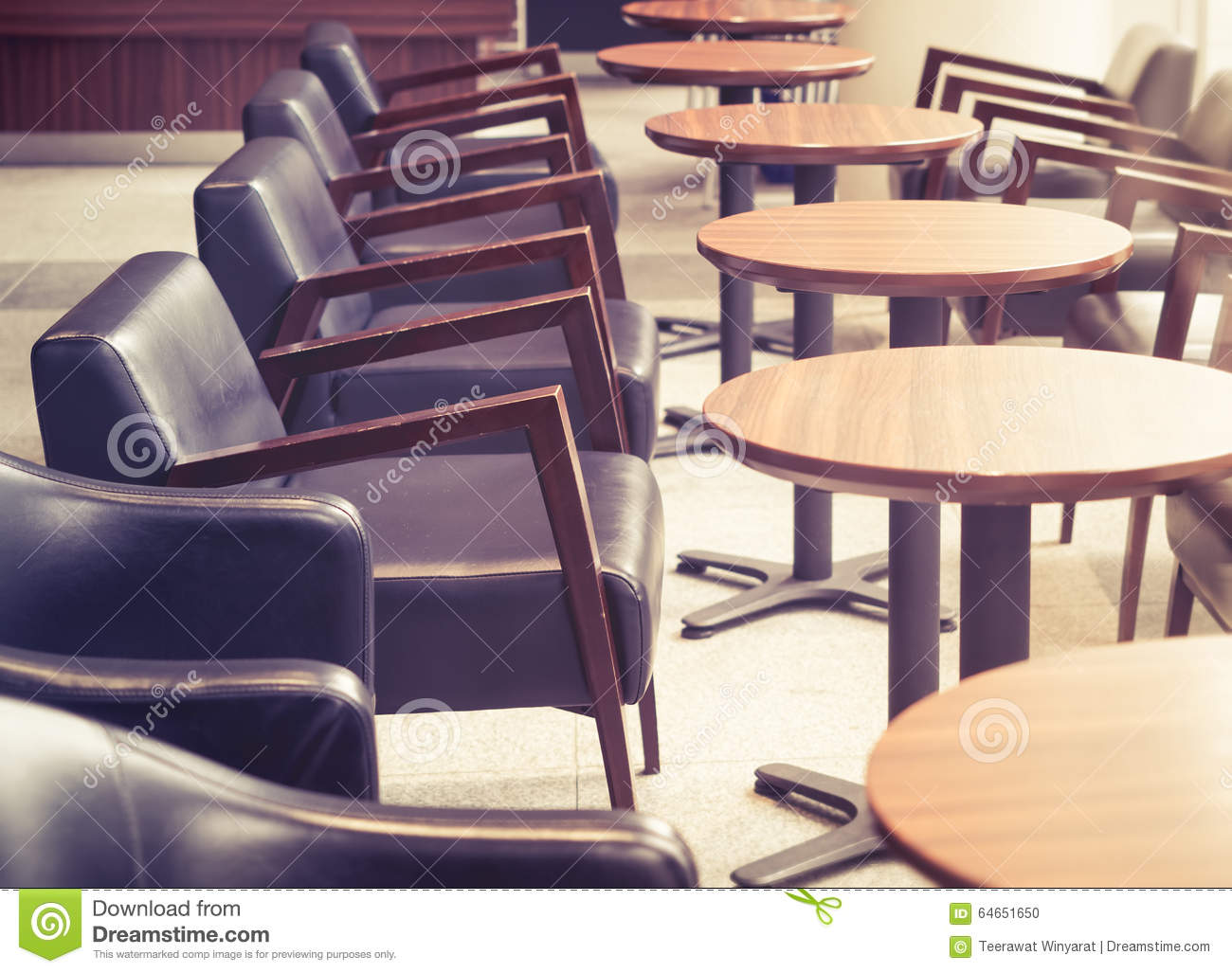 retro cafe table and chairs adirondack style plastic uk interior with tables in bar restaurant stock vintage tone