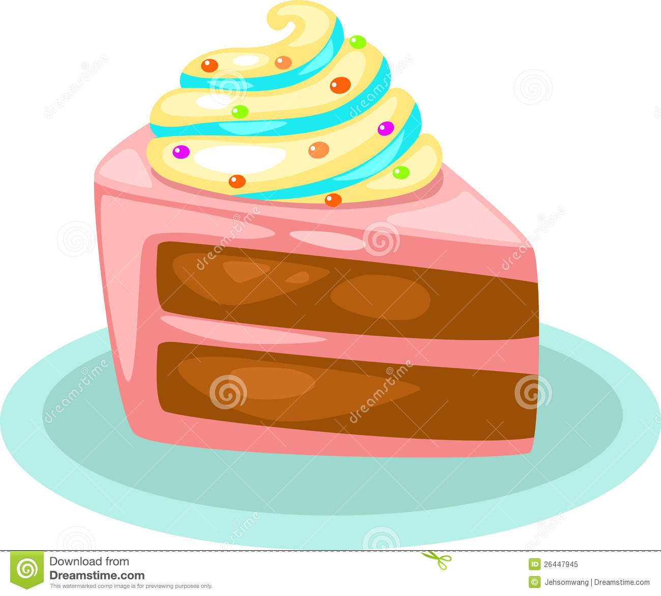 Cake Vector Royalty Free Stock Photo Image 26447945