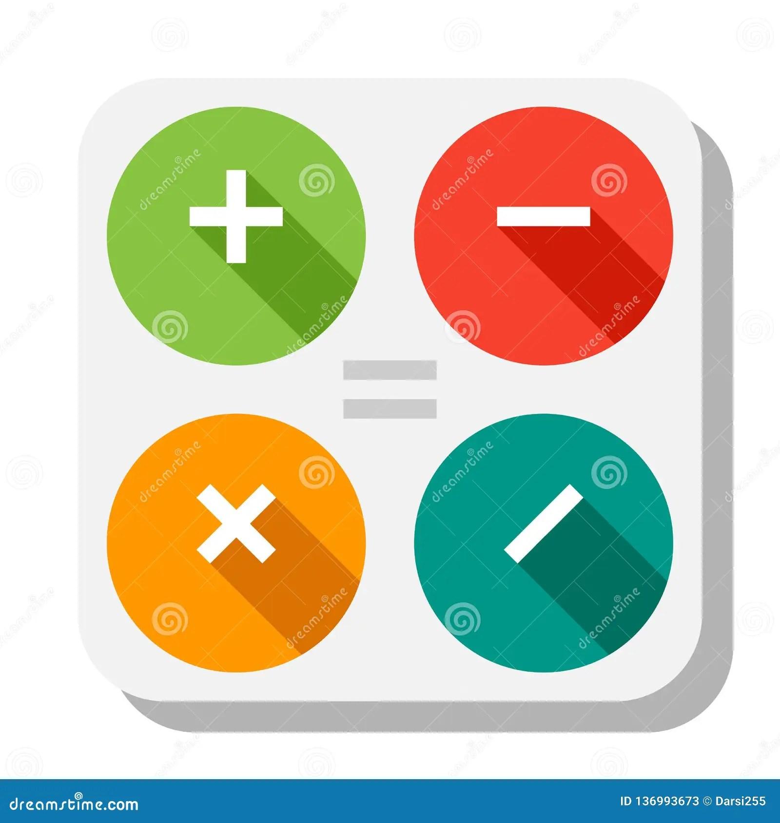 calculator icon app buttons
