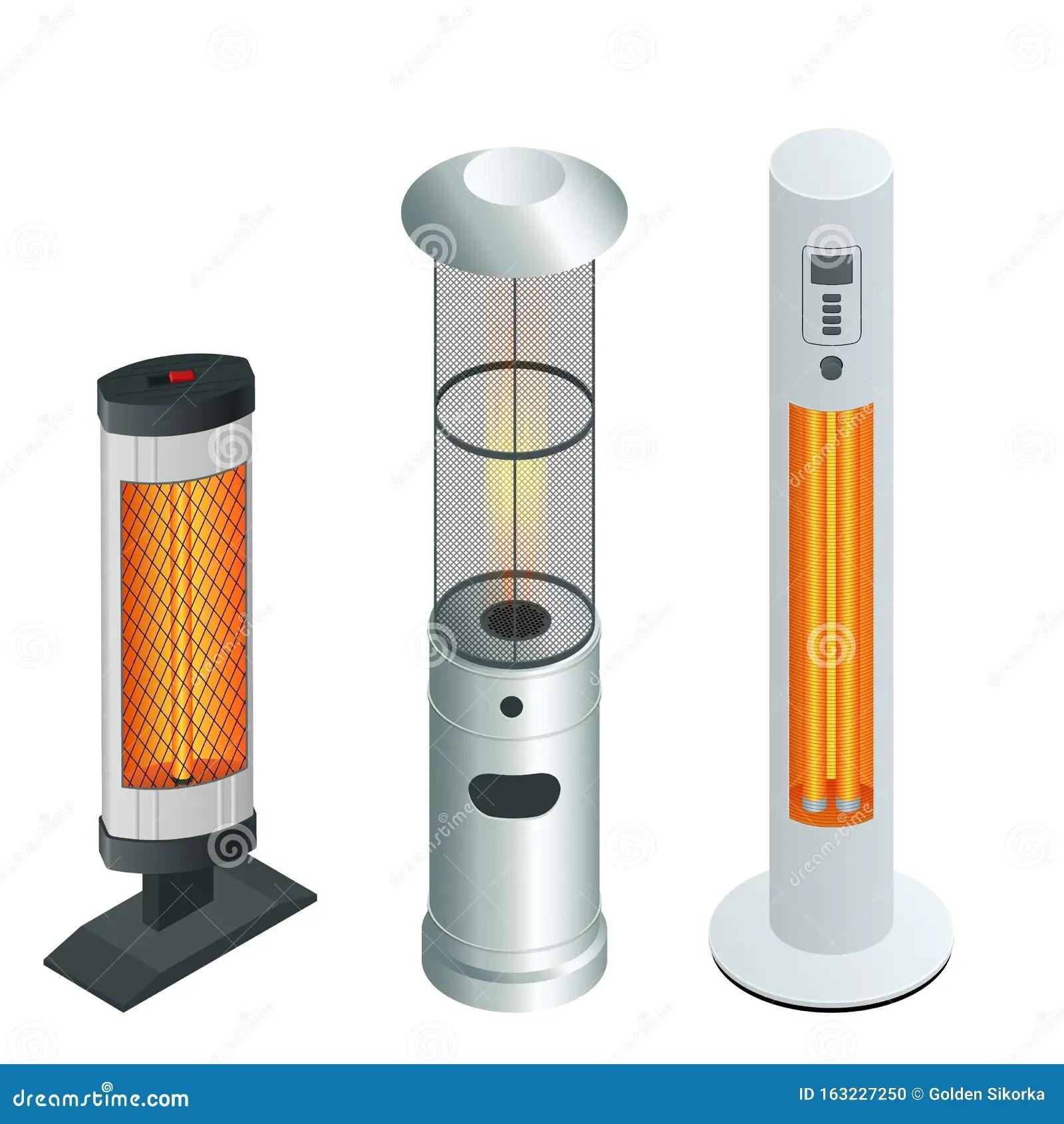 onda larga y calentador de patio de gas