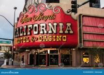 California Hotel And Casino Las Vegas Sign Editorial