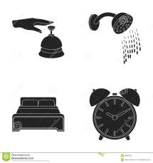 Call Reception Alarm Clock Bed Shower.hotel Set