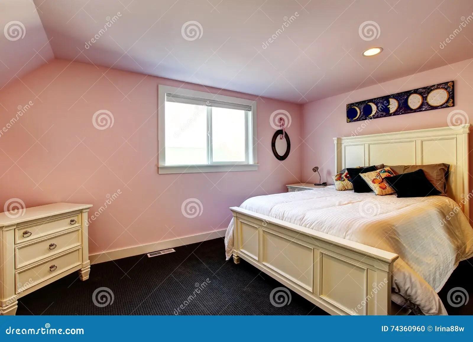 Camera Da Letto Con Pareti Rosa : Camera da letto pareti rosa: camera da letto rosa pastello e grigia