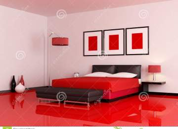 Camera Da Letto Parete Rossa | Badroom Camerette Per Ragazzi E Bambini