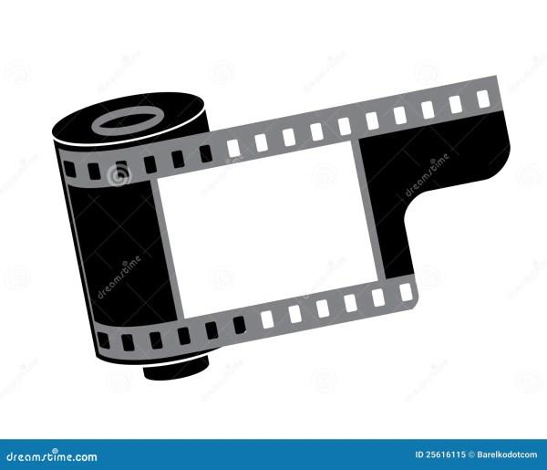 Camera Film Roll Stock Vector. Illustration Of Frame
