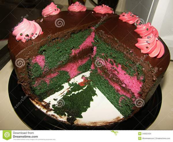 Camouflage Cake Stock Of Cream Disguise