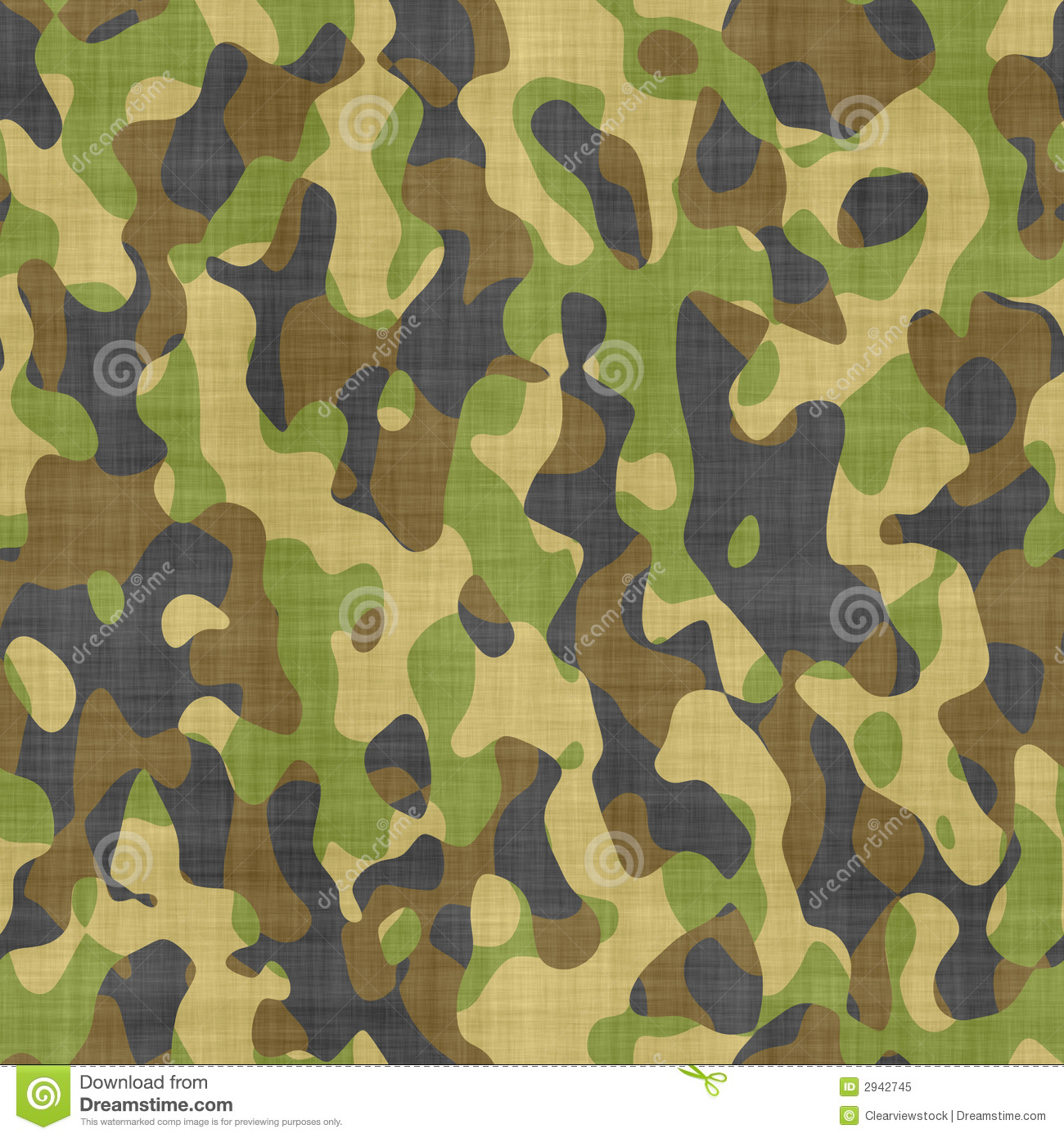 Green Camouflage Wallpaper