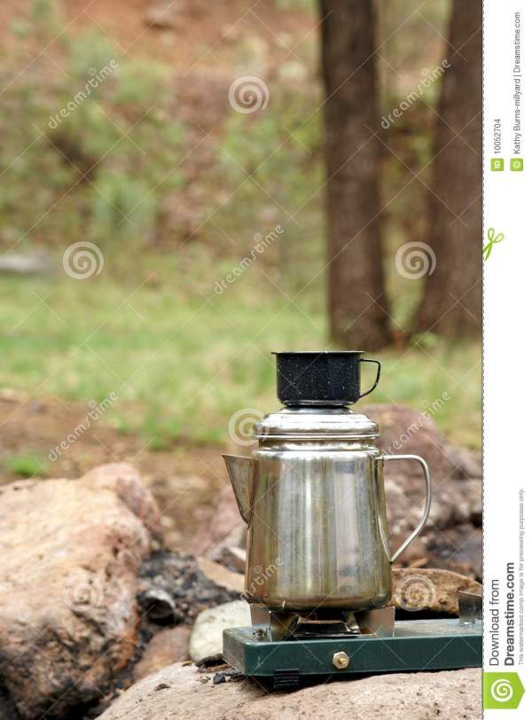 Camping Coffee Stock - 10052704
