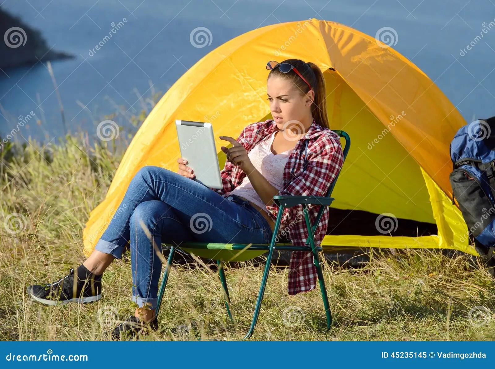 Camping Stock Photo  Image 45235145