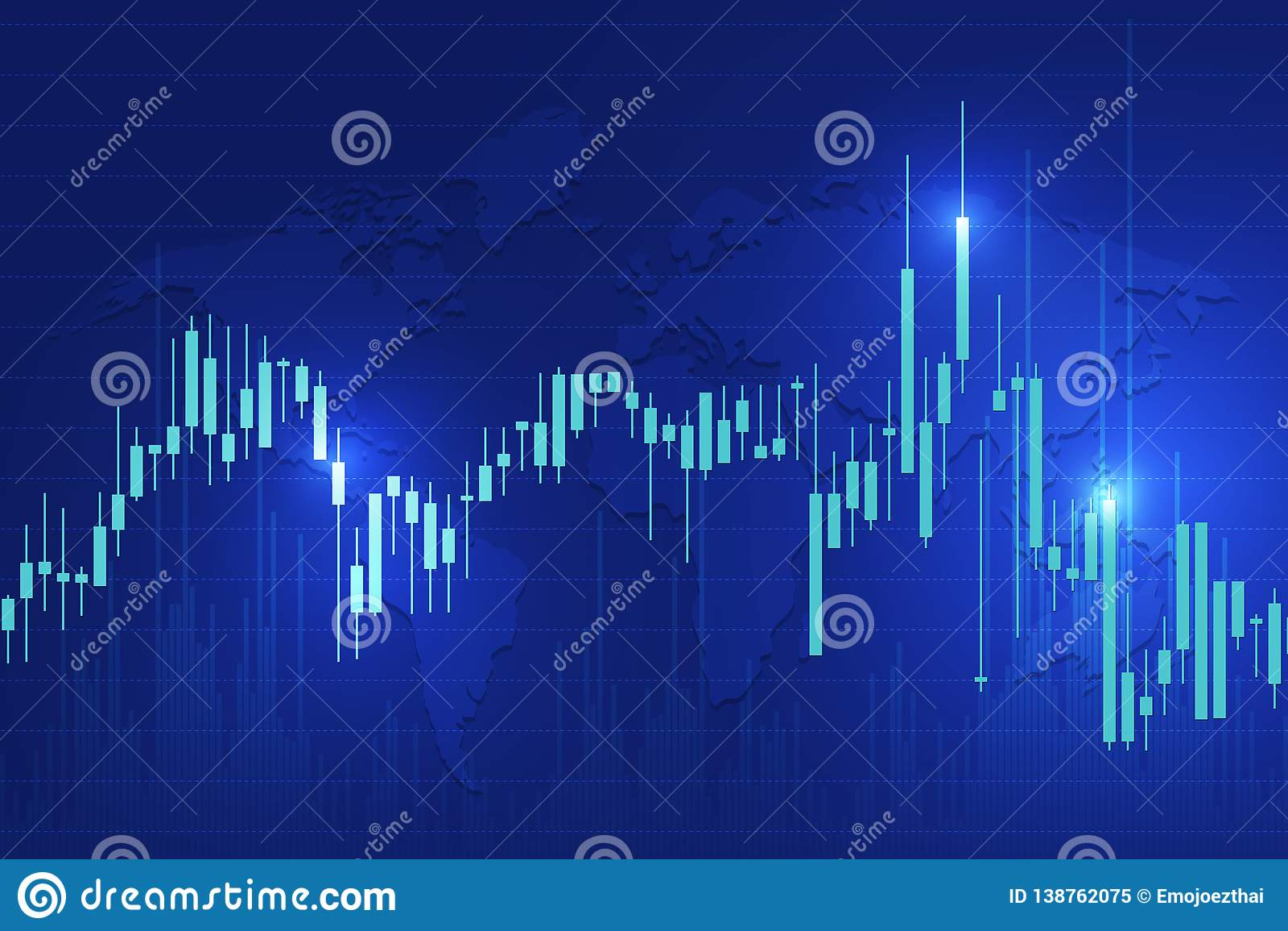 stock exchange background stock