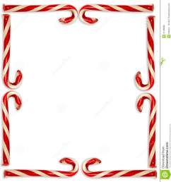 candy cane border [ 1242 x 1300 Pixel ]