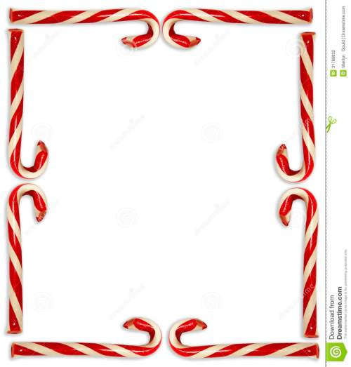 small resolution of candy cane border