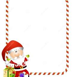 candy cane santa border [ 1112 x 1300 Pixel ]
