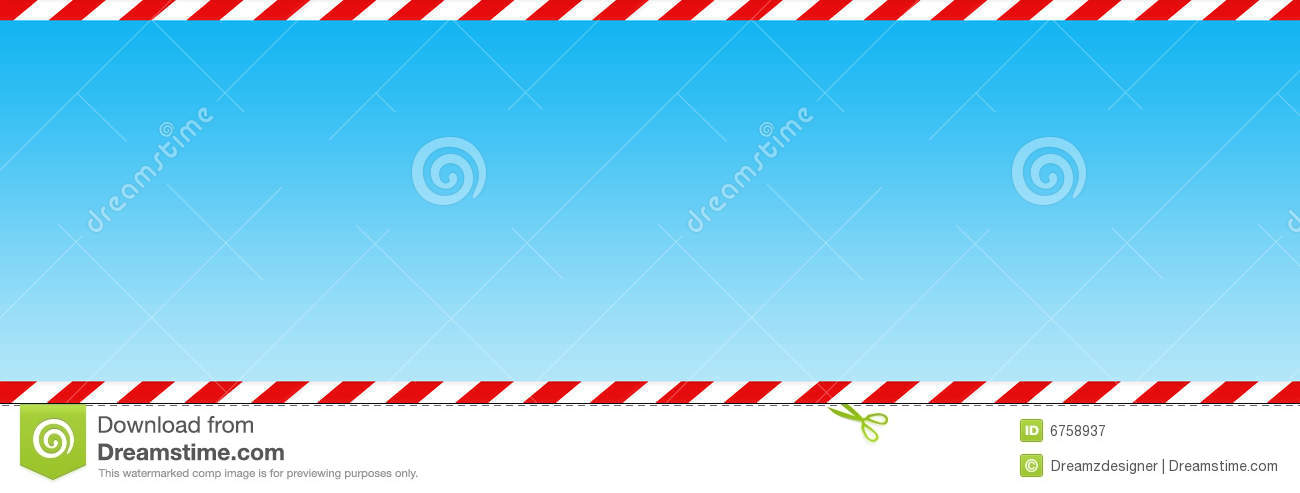 Candy Cane Web Header Banner Royalty Free Stock