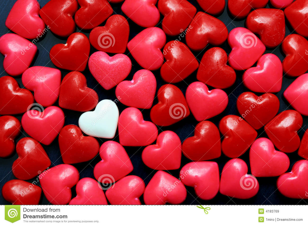 Candy Hearts Royalty Free Stock Images Image 4183769