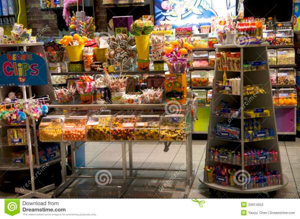 Candy Store in Bellevue Square