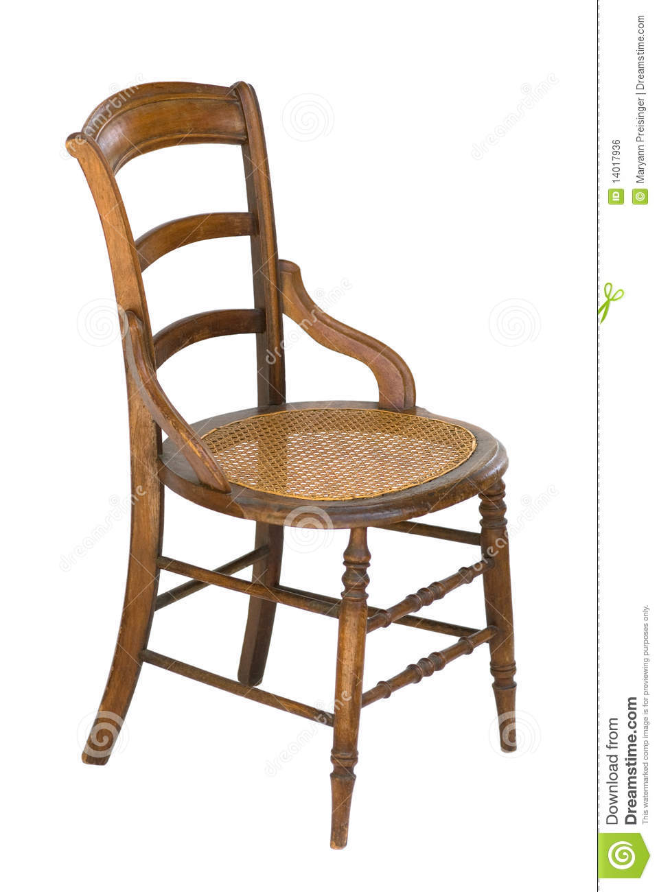 antique wooden chairs pictures snille swivel chair review cane seat wood vintage isolated stock photo image this is an old with spindles and a it has modified arms side view