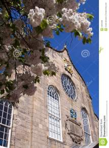 Canongate Kirk Royal Mile Edinburgh Royalty Free Stock
