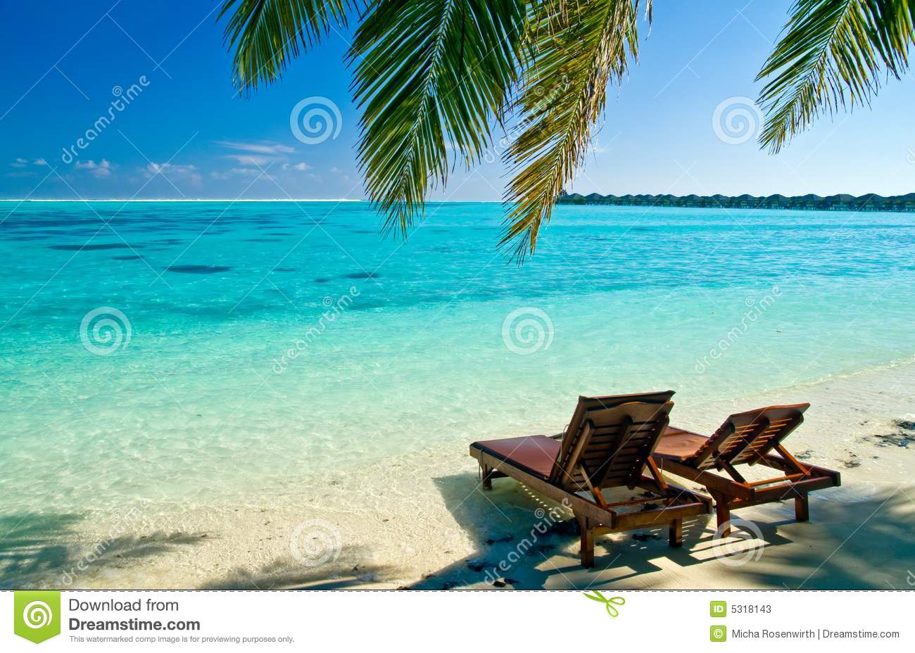 canvas beach chair custom indoor cushions chairs on tropical stock image of