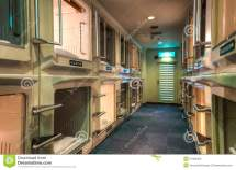 Capsule Hotel Stock - 51364200