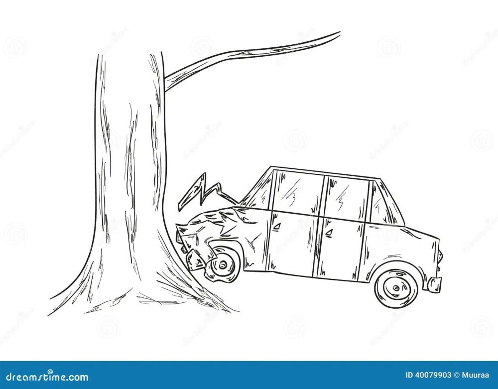 medium resolution of car accident sketch illustration 40079903 megapixlcar accident sketch