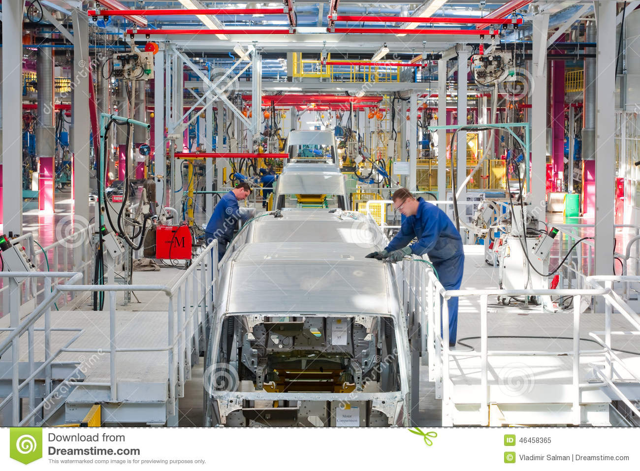 Car Assembly Line Ford Sollers Editorial Image  Image 46458365