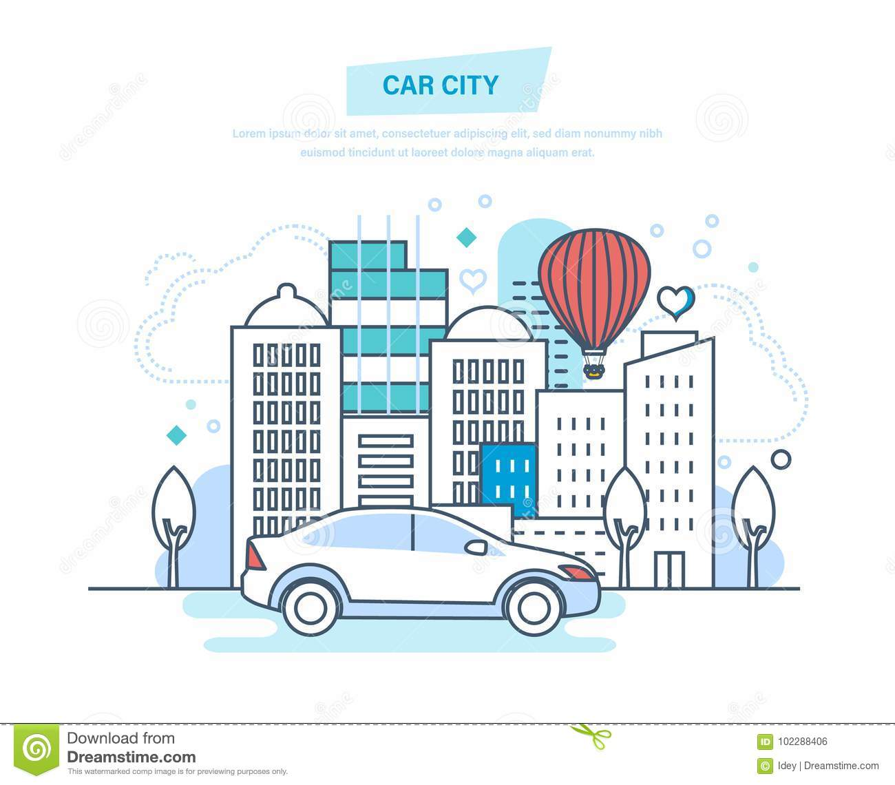 hight resolution of car city machine driving ride in park entertainment outside home