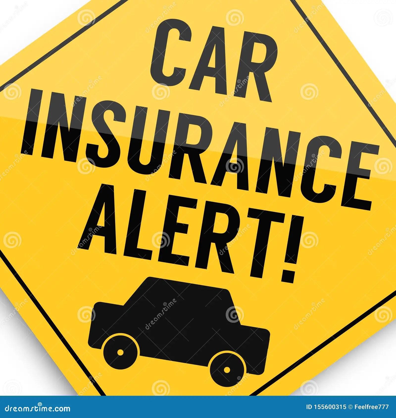 Car Insurance Alert Super Quality Business Picture Stock Illustration Illustration Of Boss High 155600315
