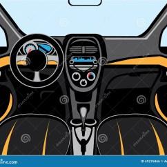 Vehicle Diagram Clip Art Car Wiring Diagrams Ford Interior Vector Stock Image Of Panoramic