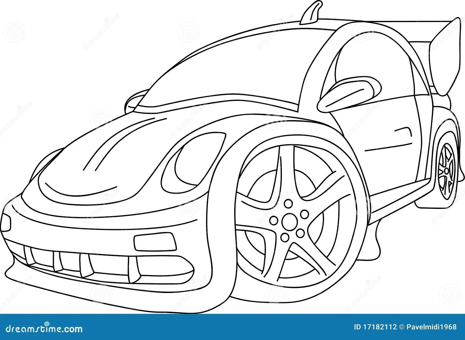 Car Tuning Stock Vector Illustration Of Style Motor
