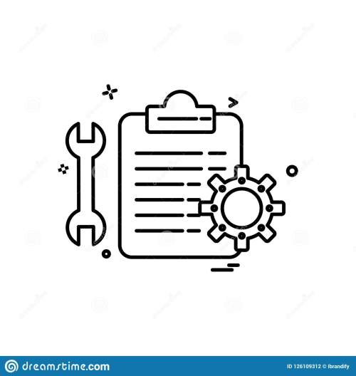 small resolution of car workshop icon design vector