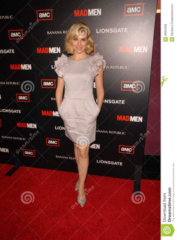 Cara Buono Mad Men Year Of Clean Water