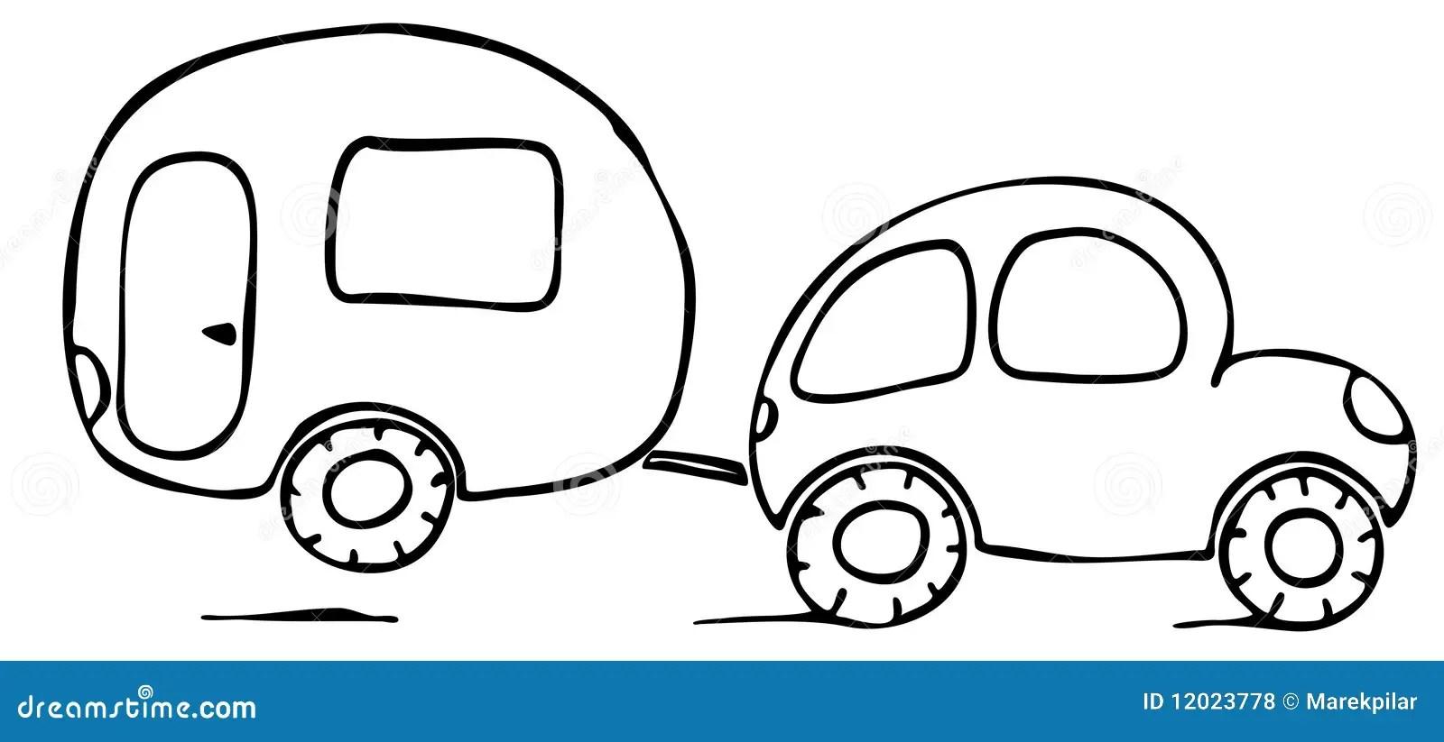 Caravan Cartoons, Illustrations & Vector Stock Images