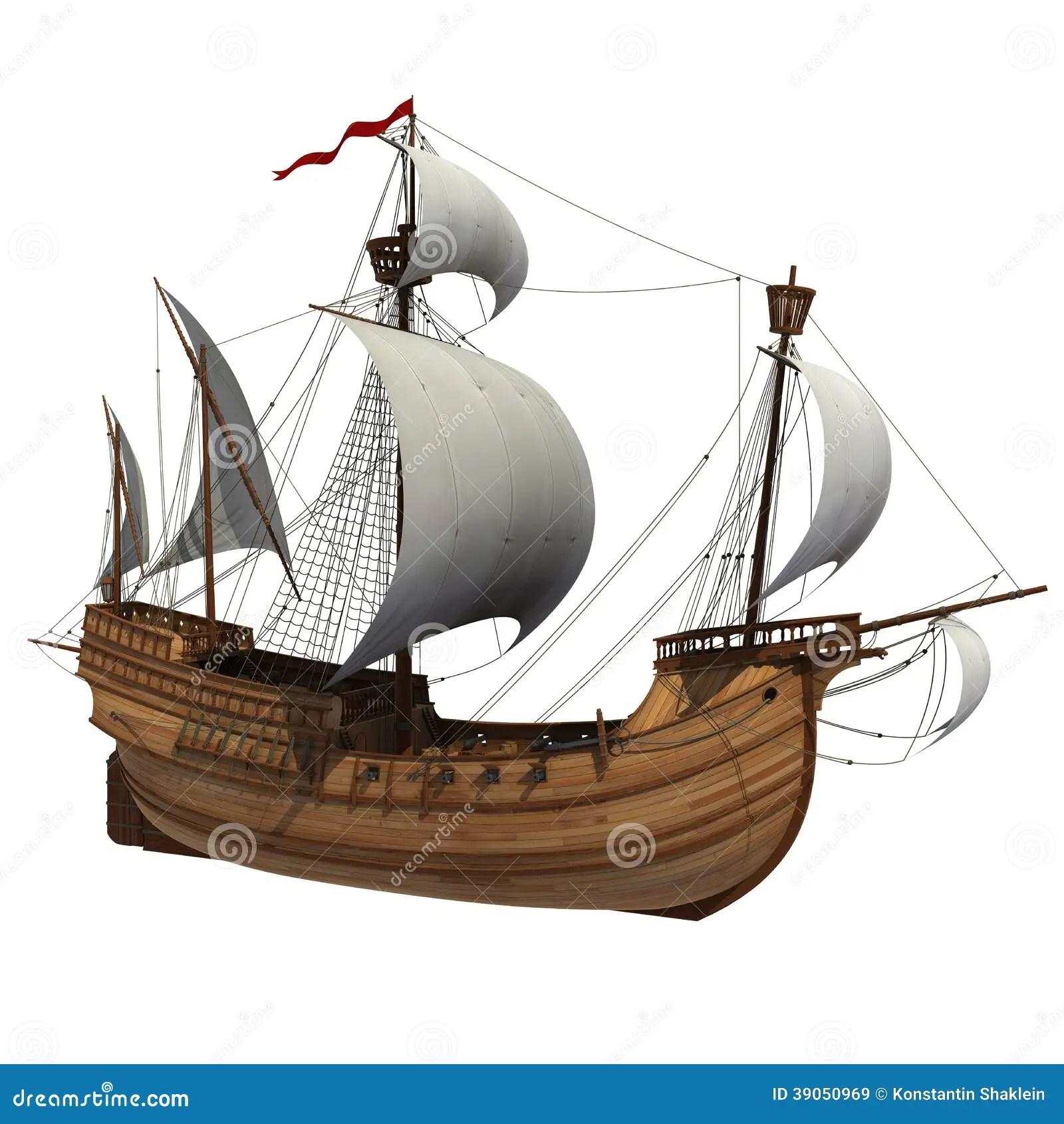 diagram of a caravel ship 1980 honda cb750 custom wiring stock illustration image 39050969