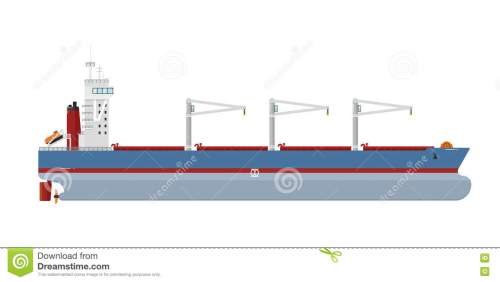 small resolution of cargo ship isolated on white background