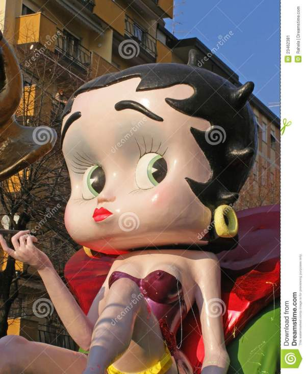 Carnival - Betty Boop Float Editorial Of