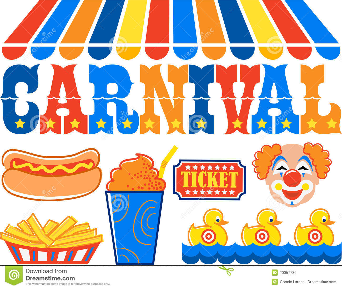 hight resolution of carnival clipart eps